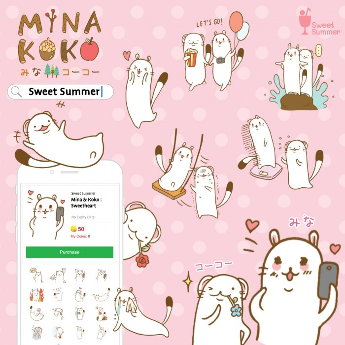Mina_Koko_sticker_promo